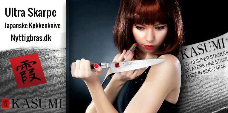 Professionelle kokkeknive er oftest japanske knive